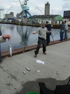 Der var nærmest fisk over det hele
