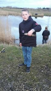 lille fisk, men en fisk.
