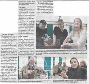 Artikel fra Skibhus Avisen fra Fjordens Dag 130915